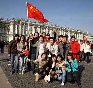 Китайский гид-переводчик